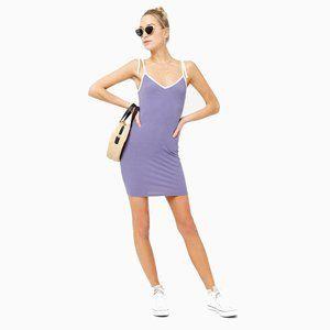 4/25$ | Purple Ribbed Cami Mini Dress